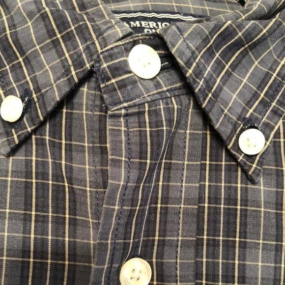 Men's Vintage American Eagle L/S Button Down Shirt